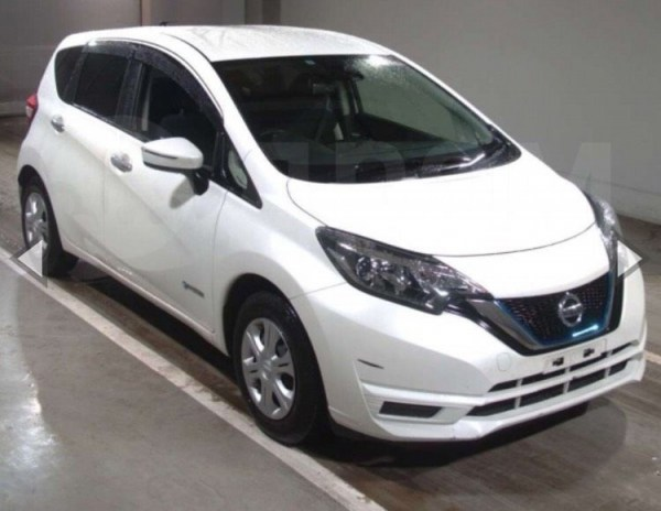 Nissan Note - 2017 год